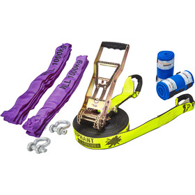 Elephant Slacklines Freak Kit Flash'line 15 m, neon
